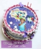 Birthday Cake with edible photo  medium