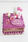 Opera cake Hello Kitty