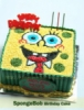 Sponge Bob 2D Birthday Cake  medium