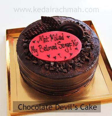 chocolate devil  large
