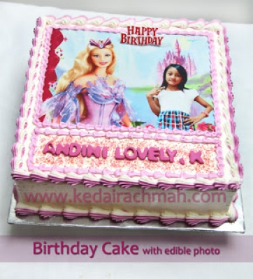 large2 Birthday Cake with edible photos