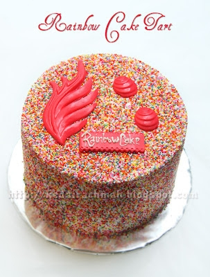 Cutie Rainbow Cake  large